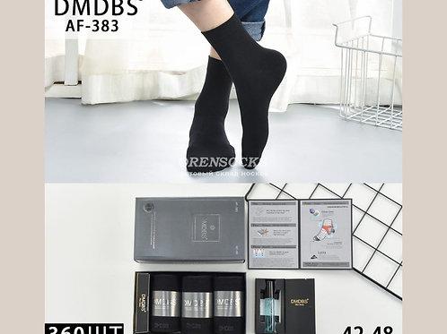 DMDBS Ароматизированные  мужские носки в коробке по 3 пары с духами  AF-383