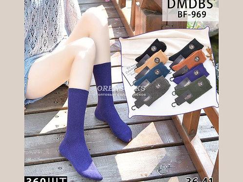 DMDBS Носки женские кашемировые c норковой опушкой арт.BF-969