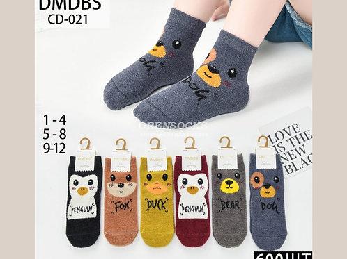 DMDBS Носки детские, очень мягкие и теплые отличного качества разных цветов арти
