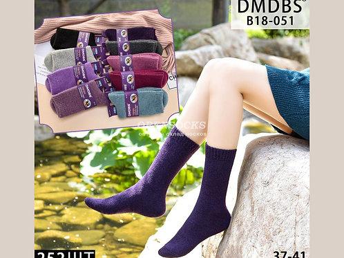 DMDBS Женские термо махровые носочки из верблюжьей шерсти арт.:В18-051