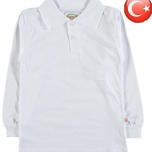Кофта-поло для мальчика из мягкого турецкого трикотажа. Артикул: 11487