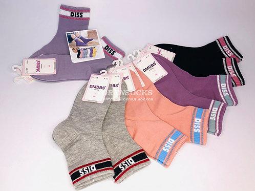 DMDBS детские носки для девочек разных расцветок с люрексовыми полосками DISS ар