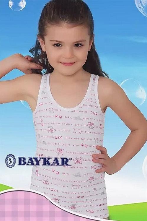 4630 майка д/дев многоцвет (BAYKAR)