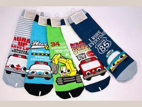 Детские носочки средней длины с  пяткой Turcn артикул 8401-6