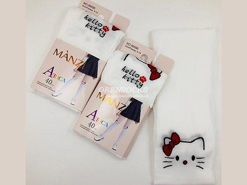 Детские колготки Hello kitty  в упаковке 10 пар одного размера