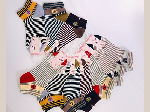 Детские хлопковые полосатенькие носочки Шугуан. Арт.C663