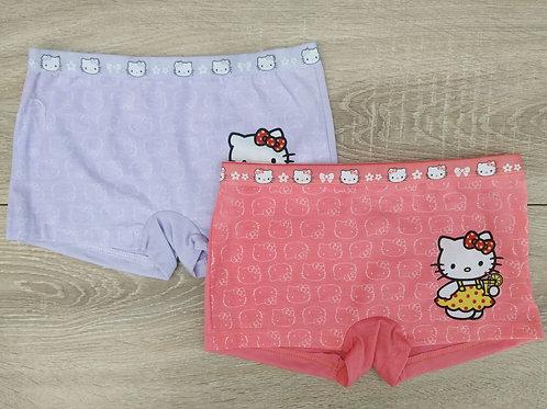 Детские трусы-шорты для девочек Китти. Артикул w8495