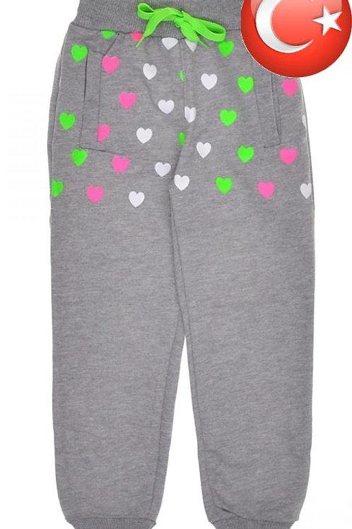 Детские спортивные штаны для девочки. Артикул: 13951