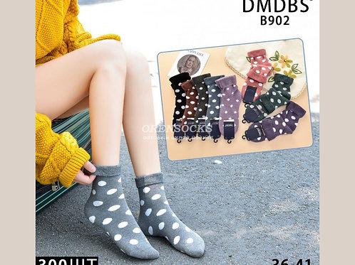 DMDBS Носки женские махровые, отличного качества в упаковке 10 штук разных расцв