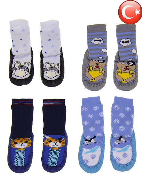 Детские носки с подошвой 2-4 Артикул: 13148