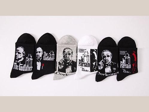 TURKAN Молодежные мужские носки, отличного качества с разными рисунками  АРТ 940