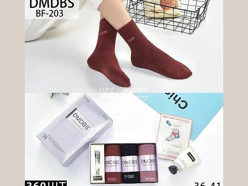 Женские носки в подарочной упаковке с кремом ароматные антибактериальные дезодор
