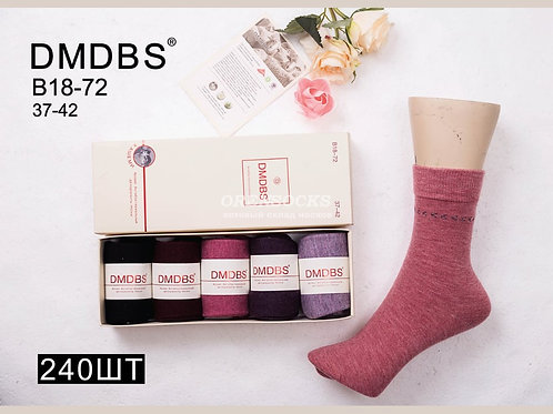DMDBS женские носки в подарочной упаковке кашемир B18-72