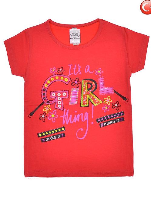 Детская футболка (2-8) Артикул: 12844