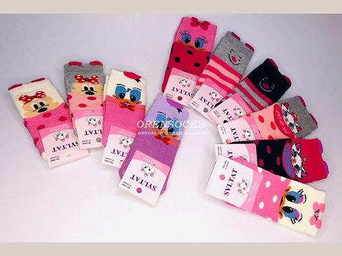 SYLTAN Носочки бебики для малышей махровые из 100% хлопка отличного качества арт