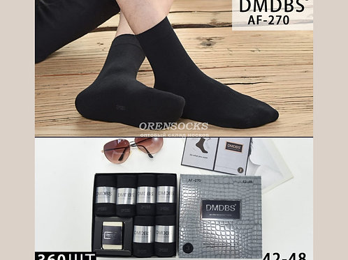 DMDBS Носки мужские в подарочной упаковке c мылом,ароматизированные по 6 пар в к