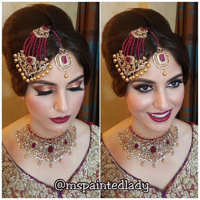 💄SHAADI SENSATION💄💋 mashAllah!!!! 😍__This look was created using #mspaintedladycosmetics stick f