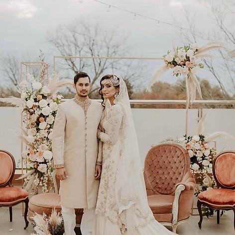 Bohemian desi bride vibes