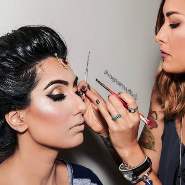 International makeup and hair artist