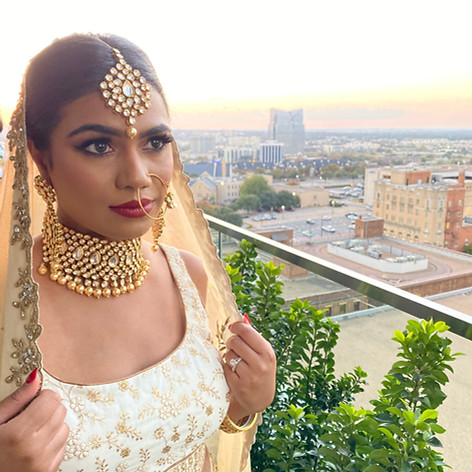 Indian Dulhan rocking this lehenga for a bridal shoot