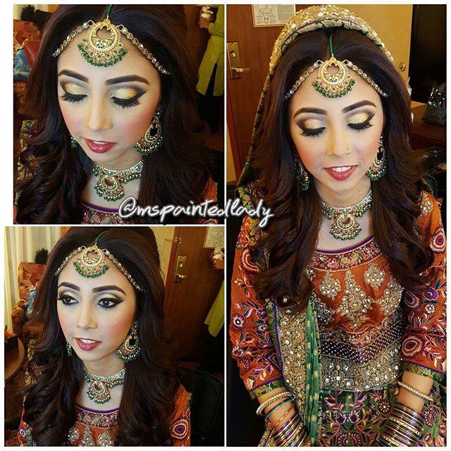 💍SHINE BRIGHT 🎇__#nofilter #noedit on this gorgoeus #mehndi bride! We wanted to keep the eyes stro