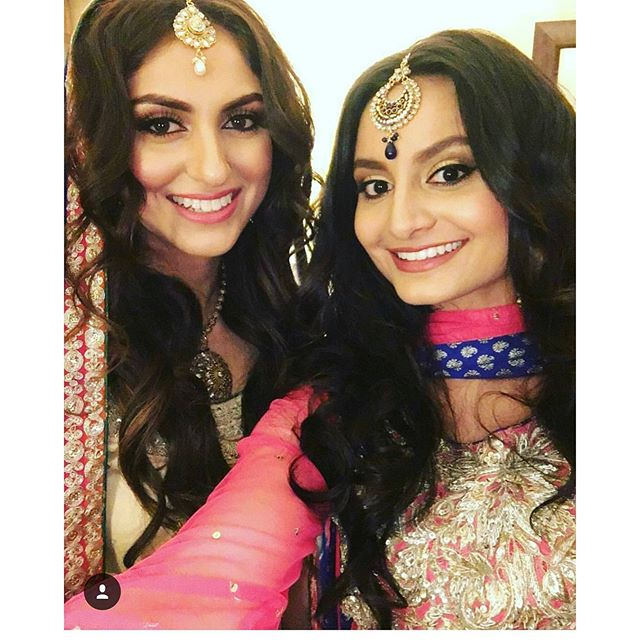 💄THESE GIRLS 😍__#mspaintedlady #dallasmua #dallasmakeupartist #pakistanibrides #shaadi #pakistanib
