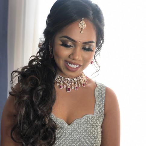 Indian reception bride