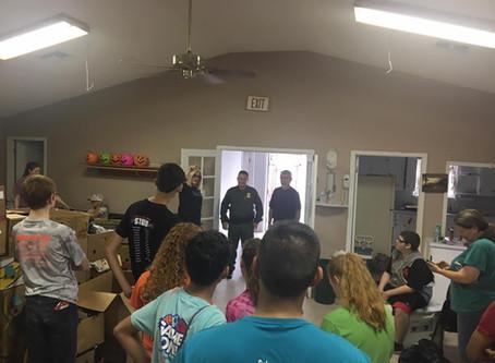 Love it when our volunteers visit