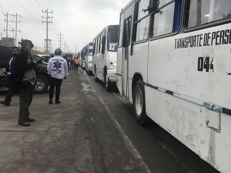 Caravan Arrival