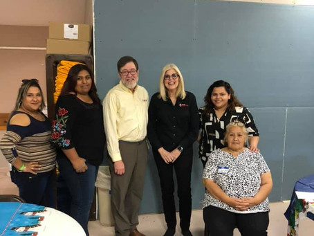 Global Migration Director from UMCOR, visits our center.