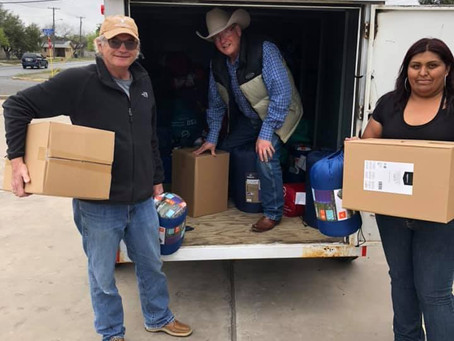 Mission Border Hope receives donations