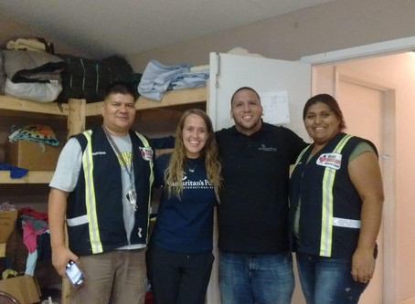 Visit From Our Friends From Samaritan Purse.