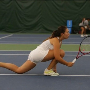 Panther Spotlight: First-Year Federici Already Leads Tennis Team to Success