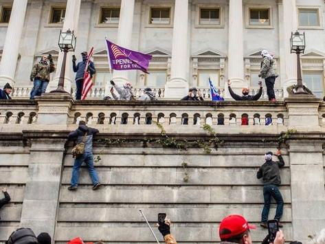 A Mob of Trump Supporters Storm Capitol Hill