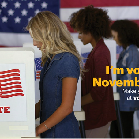 Make Your Voice Heard: #AdelphiVotes