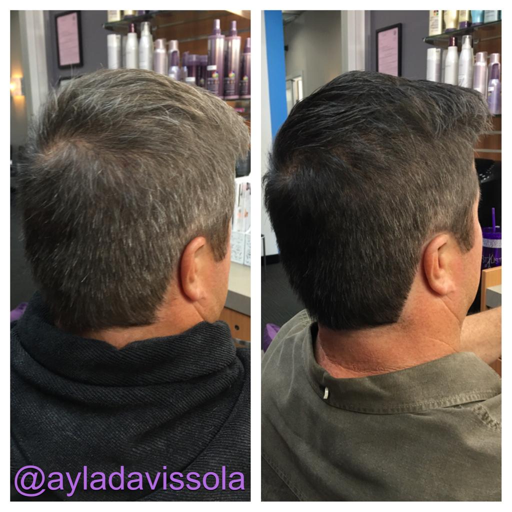 Haircut & Men's Haircolor