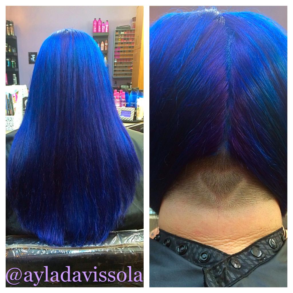 Undercut & Haircolor