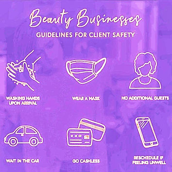 beauty business guidelines