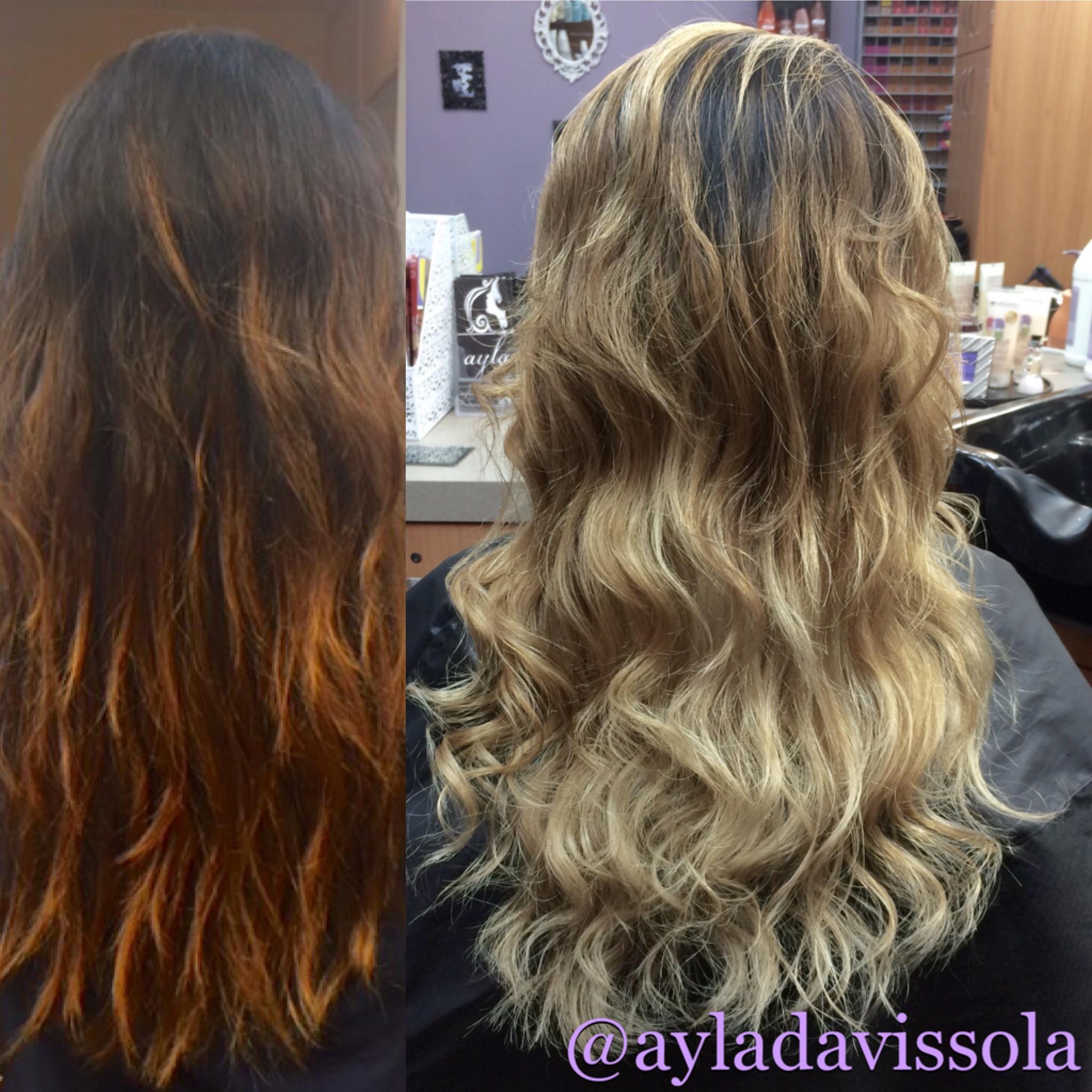 Haircut & Balayage