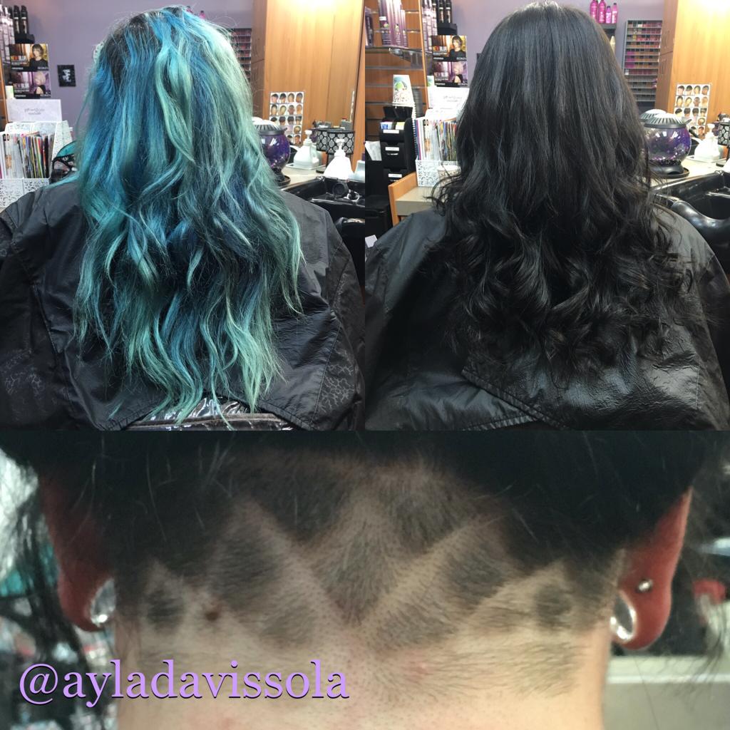 Haircolor & Undercut