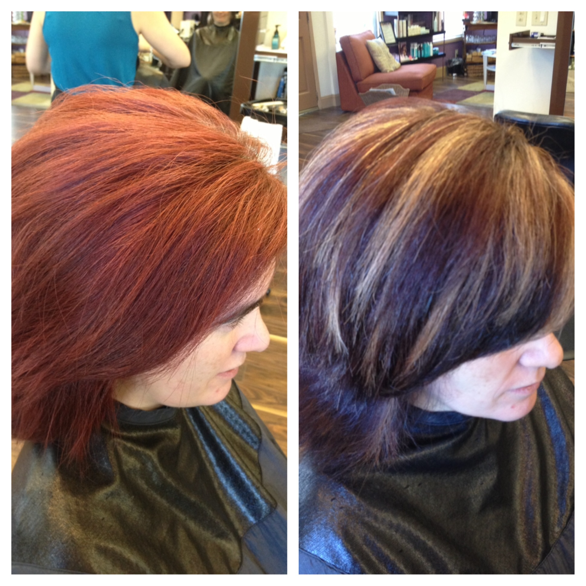 Haircut & Haircolor Correction