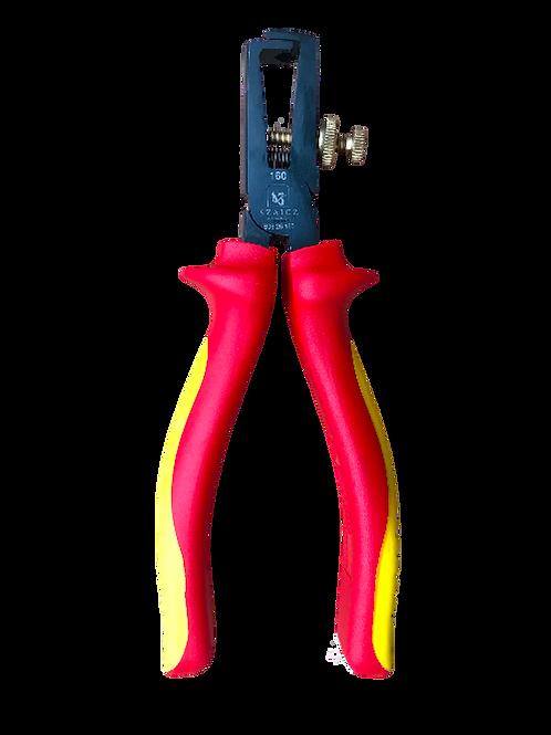 Kábelcsupaszító fogó 160 mm VDE