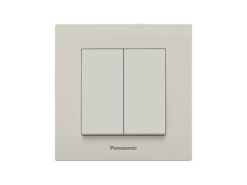 Panasonic csillárkapcsoló, keret nélkül, bézs
