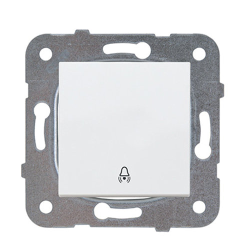 Panasonic Nyomókapcsoló csengő jellel, keret nélkül, fehér