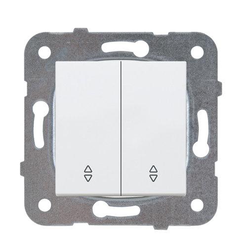 Panasonic Kapcsoló, kettős váltókapcsoló, keret nélkül, fehér