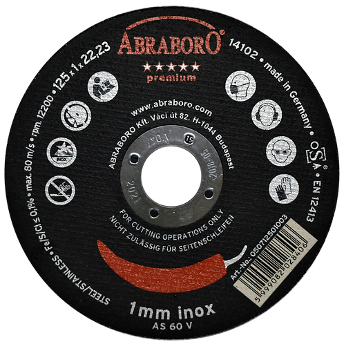 ABRABORO® Chili INOX premium (black)