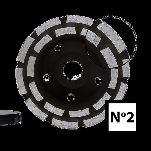 ABRABORO® Gyémántszemcsés betoncsiszoló No.2