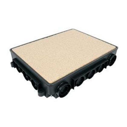 Padlódoboz betonozó doboz KUP57-hez
