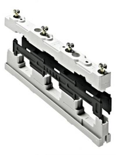 Gyűjtősín tartó 3p. 12-30 x 5-10mm-hez, 185mm -25-70C