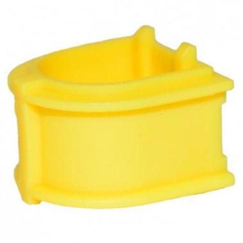 Gipszkartondobozhoz (toldó) sorolóelem sárga